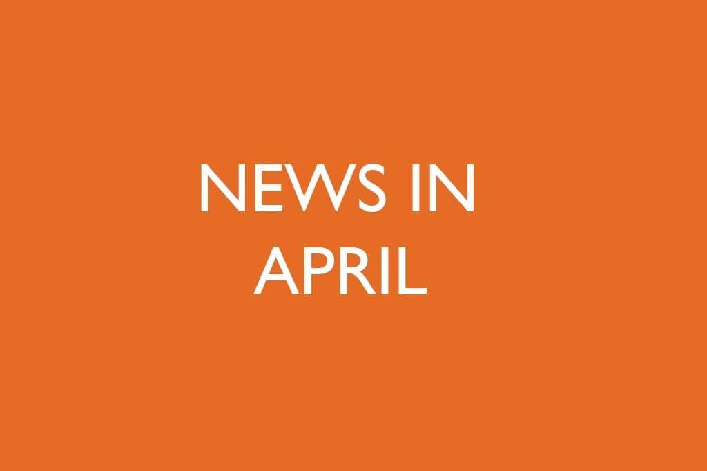 News in April