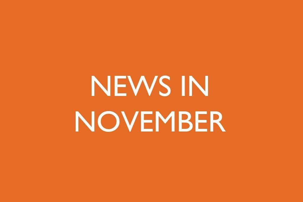 News in November