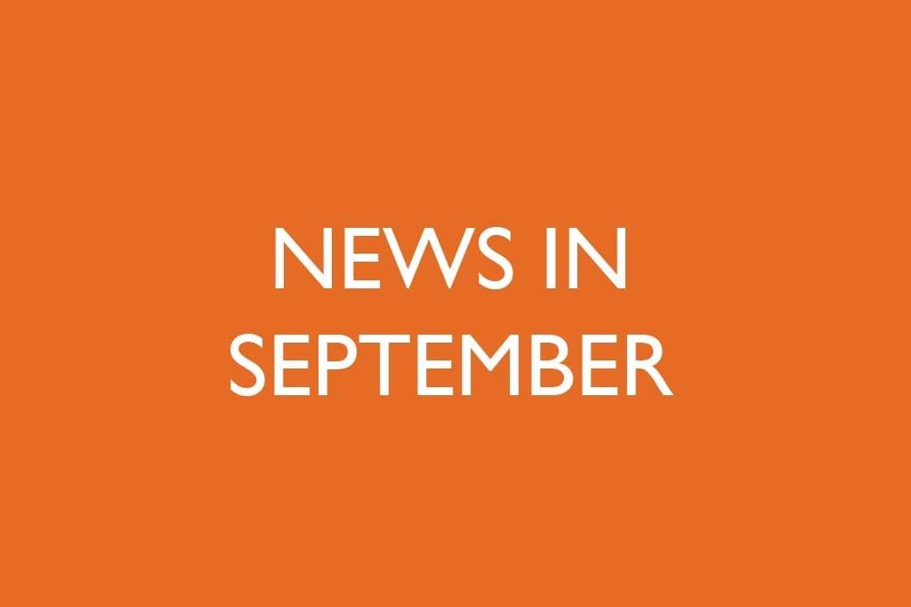 News in September