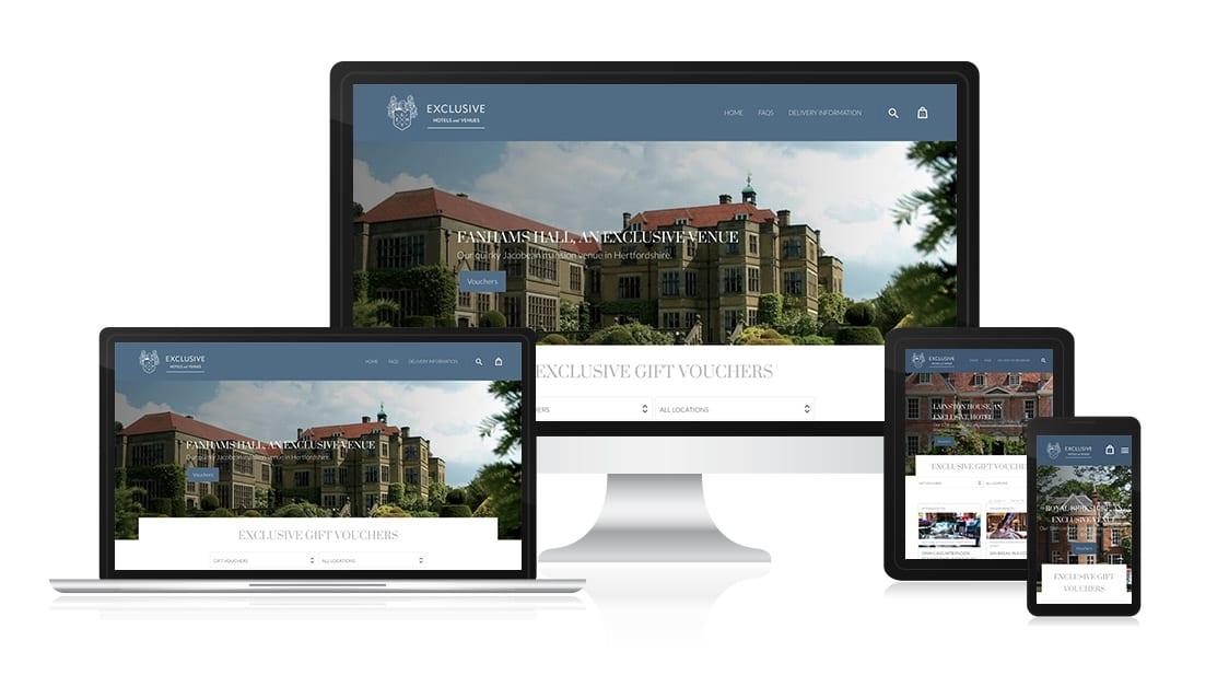 Your Hotel Gift Voucher Website